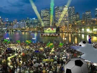 FIFA Fan Fest in Darling Harbour